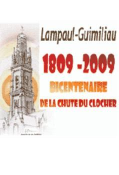 Affiche bicentenaire de la chute du clocher