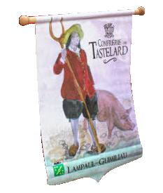 Lampaul-Guimiliau, logo association tastelard