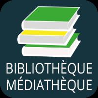 Lampaul-Guimiliau, picto bibliothèque médiathèque