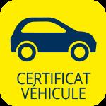 Lampaul-Guimiliau, Picto certificat de véhicule