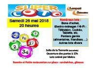 Affiche loto du 26 mai 2018