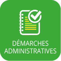 Bouton démarches administrative